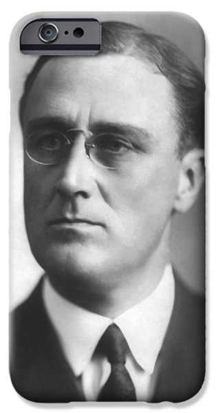 Young Franklin Delano Roosevelt iPhone Case by War Is Hell Store
