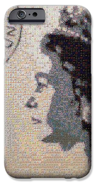 Queen Elizabeth iPhone Cases - Youve Got Mail iPhone Case by Sara Sutton