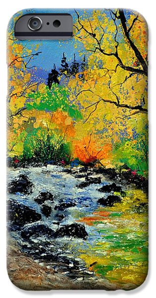 Recently Sold -  - River iPhone Cases - Ywoigne 67 iPhone Case by Pol Ledent