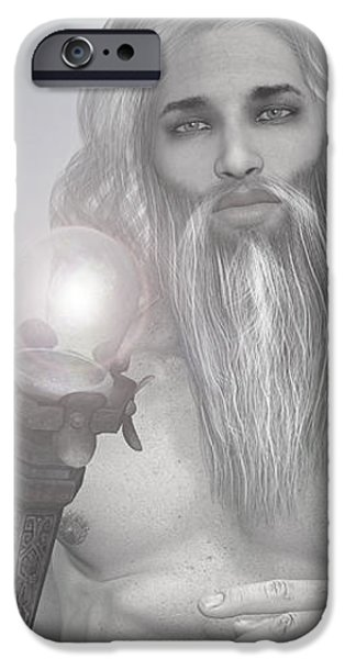 Zeus iPhone Cases - Zeus God by Quim Abella iPhone Case by Joaquin Abella