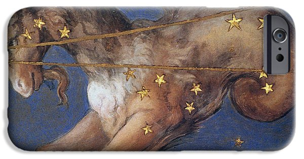 Constellations iPhone Cases - Zodiac: Capricornus, 1575 iPhone Case by Granger