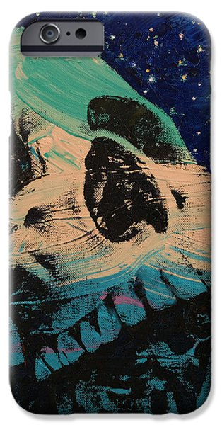 Manga iPhone Cases - Zombie Stars iPhone Case by Michael Creese