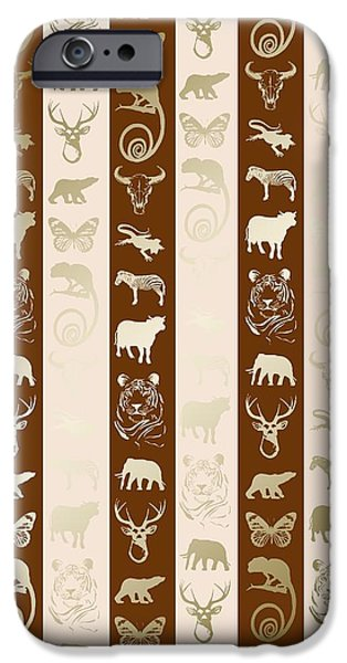 Zoo iPhone Cases - Zoo iPhone Case by Francois Domain