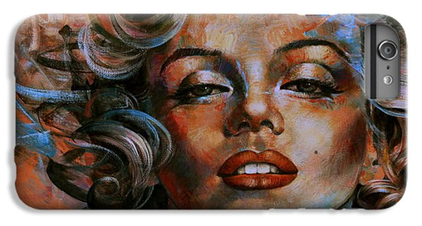 Marilyn Monroe IPhone 6 Plus Case by Arthur Braginsky