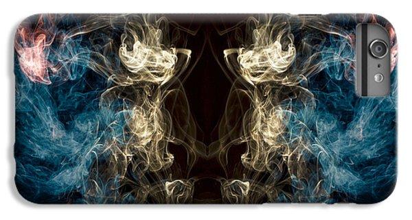 Minotaur Smoke Abstract IPhone 6 Plus Case by Edward Fielding