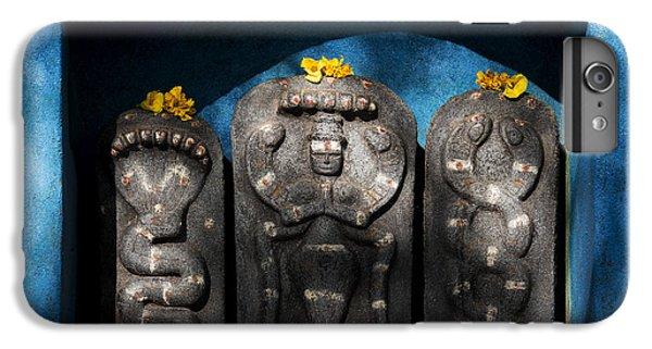 Rural Indian Hindu Shrine  IPhone 6 Plus Case by Tim Gainey