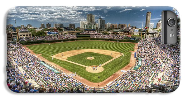 0234 Wrigley Field IPhone 6 Plus Case by Steve Sturgill
