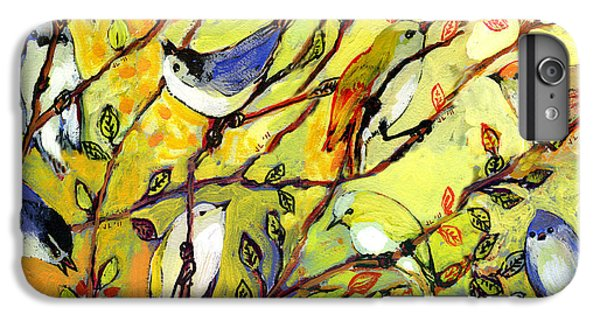 16 Birds IPhone 6 Plus Case by Jennifer Lommers