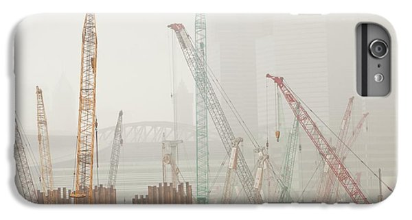 A Construction Site In Hong Kong IPhone 6 Plus Case by Ashley Cooper