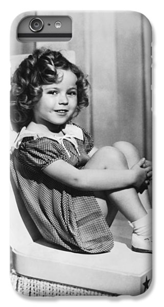 Actress Shirley Temple IPhone 6 Plus Case by Underwood Archives