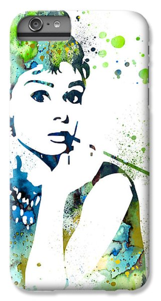 Audrey Hepburn  IPhone 6 Plus Case by Luke and Slavi