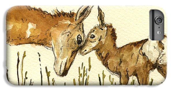Bambi Deer IPhone 6 Plus Case by Juan  Bosco