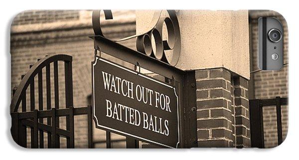 Baseball Warning IPhone 6 Plus Case by Frank Romeo