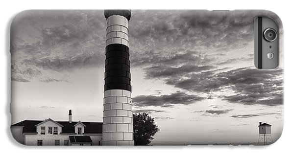 Big Sable Point Lighthouse In Black And White IPhone 6 Plus Case by Sebastian Musial
