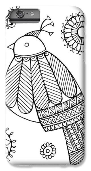 Bird Dove IPhone 6 Plus Case by Neeti Goswami