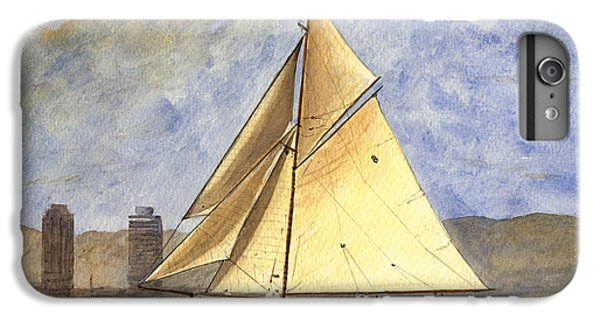 Classic Yacht Barcelona IPhone 6 Plus Case by Juan  Bosco