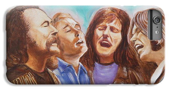 Crosby Stills Nash And Young IPhone 6 Plus Case by Kean Butterfield