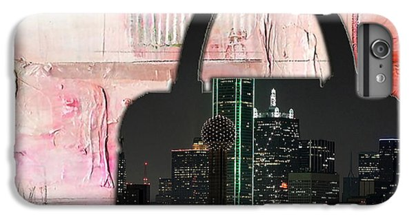 Dallas Texas Skyline In A Purse IPhone 6 Plus Case by Marvin Blaine