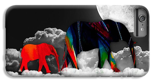Elephants On Cloud 9 IPhone 6 Plus Case by Marvin Blaine
