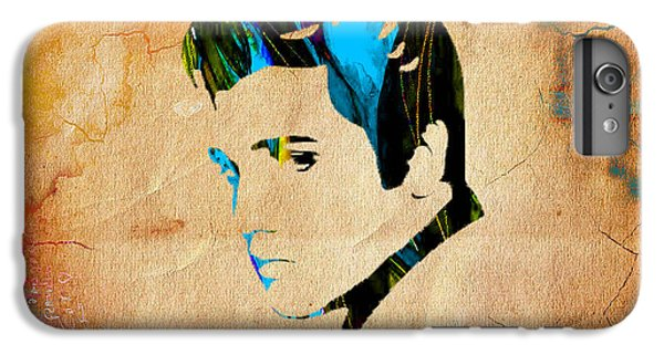 Elvis Presly Wall Art IPhone 6 Plus Case by Marvin Blaine