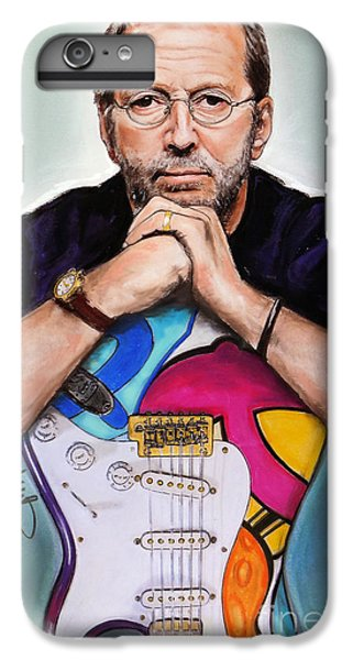 Eric Clapton IPhone 6 Plus Case by Melanie D