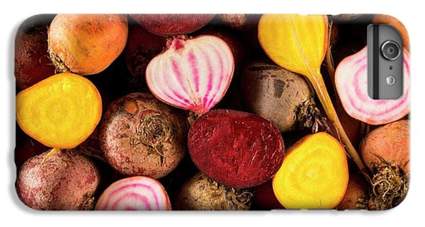 Fresh Beetroot And Red Onions IPhone 6 Plus Case by Aberration Films Ltd