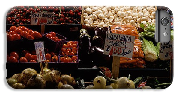 Fruits And Vegetables At A Market IPhone 6 Plus Case by Panoramic Images
