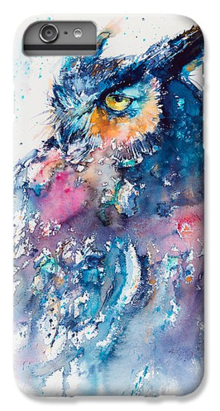 Great Horned Owl IPhone 6 Plus Case by Kovacs Anna Brigitta