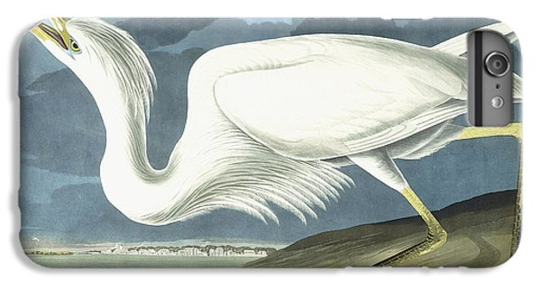 Great White Heron IPhone 6 Plus Case by John James Audubon
