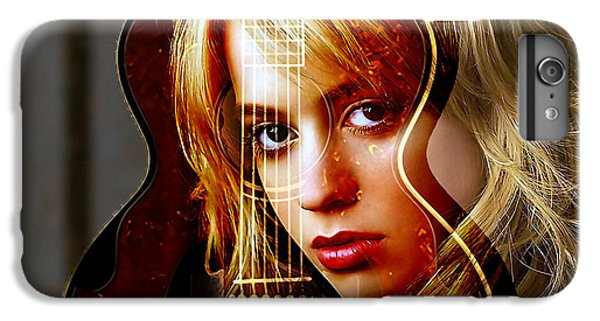Guitar Goddess IPhone 6 Plus Case by Marvin Blaine