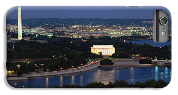 High Angle View Of A City, Washington IPhone 6 Plus Case by Panoramic Images