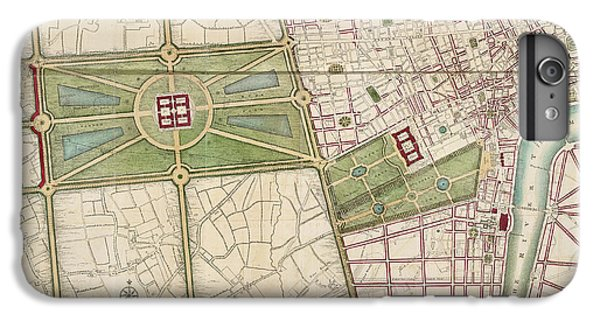 Hyde Park IPhone 6 Plus Case by British Library