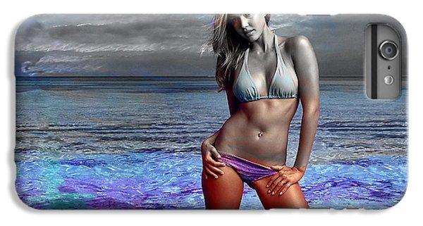 Jessica Alba IPhone 6 Plus Case by Marvin Blaine