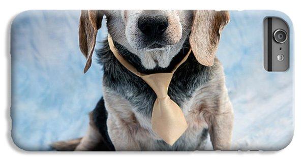 Kippy Beagle Senior And Best Dog Ever IPhone 6 Plus Case by Iris Richardson