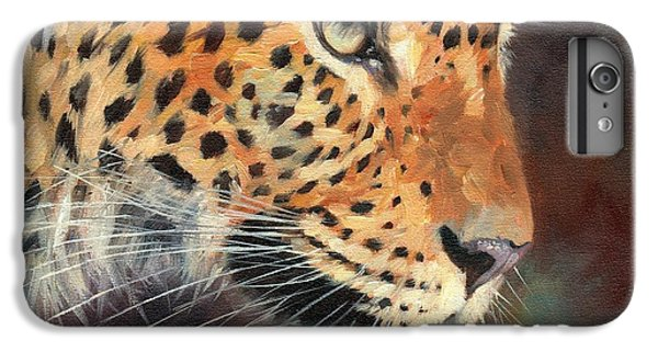 Leopard IPhone 6 Plus Case by David Stribbling
