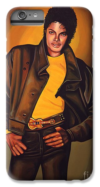 Michael Jackson IPhone 6 Plus Case by Paul Meijering