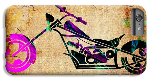 Motorcycle Chopper IPhone 6 Plus Case by Marvin Blaine
