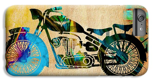 Motorcycle Painting IPhone 6 Plus Case by Marvin Blaine