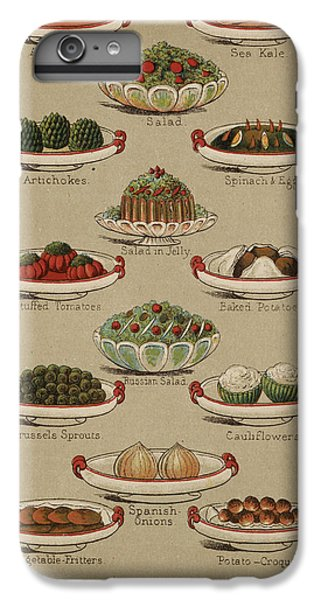 Mrs. Beeton's Family Cookery And Housekee IPhone 6 Plus Case by British Library