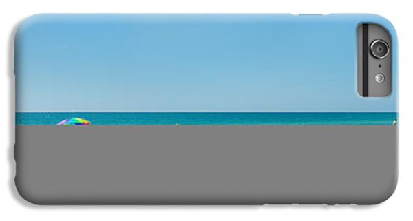 People On The Beach, Venice Beach, Gulf IPhone 6 Plus Case by Panoramic Images