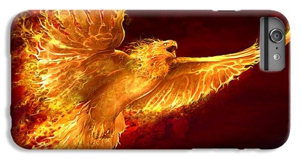 Phoenix Rising IPhone 6 Plus Case by Tom Wood