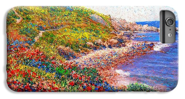 Enchanted By Poppies IPhone 6 Plus Case by Jane Small