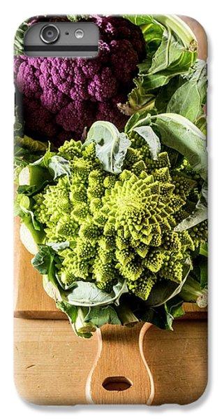 Purple And Romanesque Cauliflowers IPhone 6 Plus Case by Aberration Films Ltd