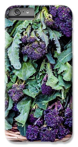 Purple Sprouting Broccoli IPhone 6 Plus Case by Aberration Films Ltd