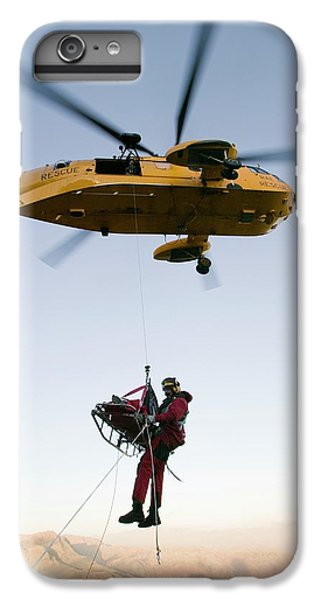 Raf Sea King Helicopter IPhone 6 Plus Case by Ashley Cooper
