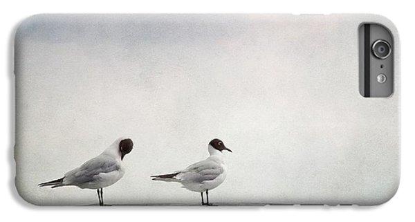 Seagulls IPhone 6 Plus Case by Priska Wettstein