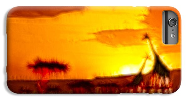 Serengeti Sunset IPhone 6 Plus Case by Sebastian Musial