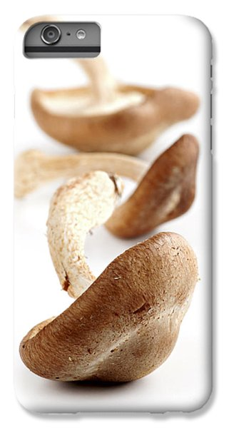 Shiitake Mushrooms IPhone 6 Plus Case by Elena Elisseeva