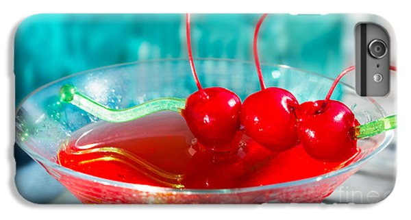 Shirley Temple Drink IPhone 6 Plus Case by Iris Richardson