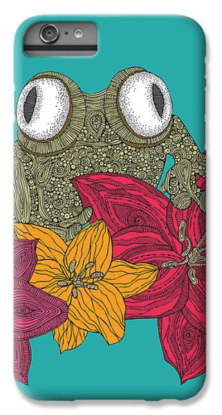 The Frog IPhone 6 Plus Case by Valentina Ramos